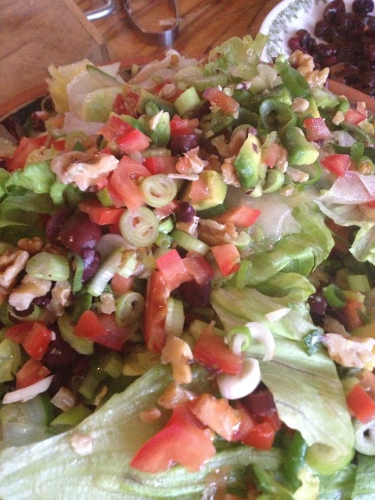 a good salad is a good accompaniment