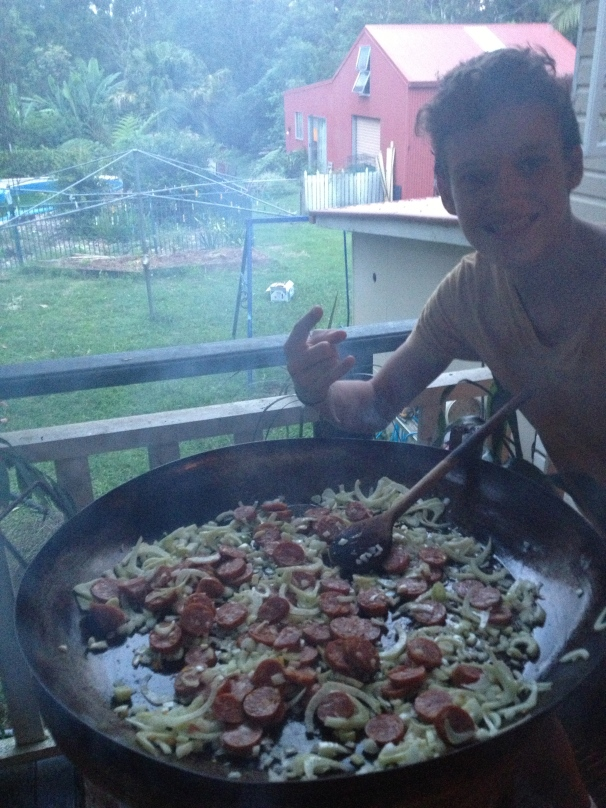 get Zac to cook