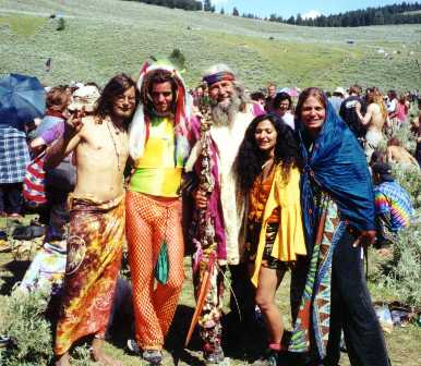 hippies at my front gate
