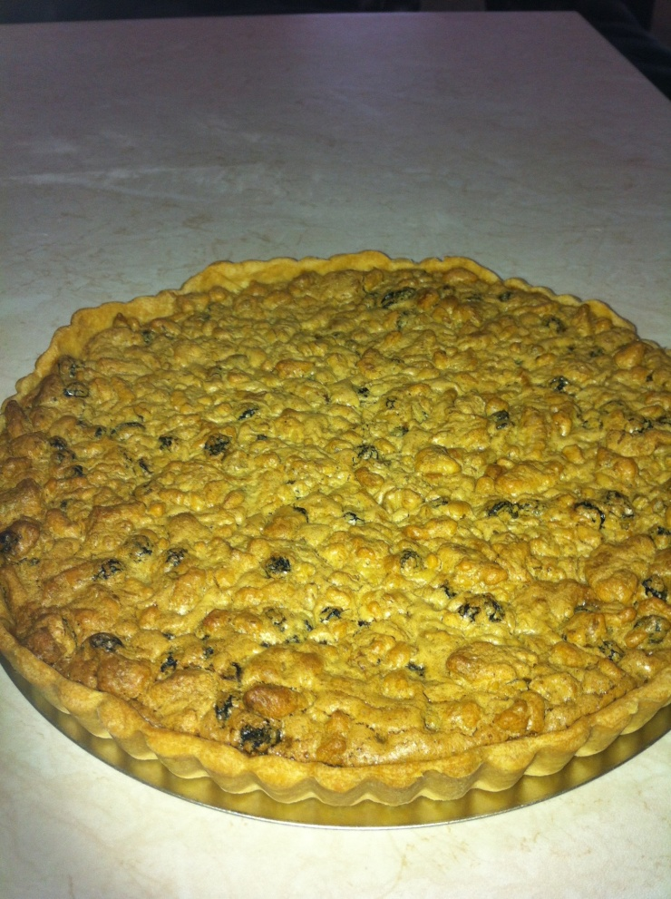 Finished tart