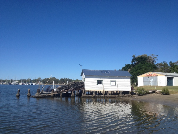 Don't forget the boatshed