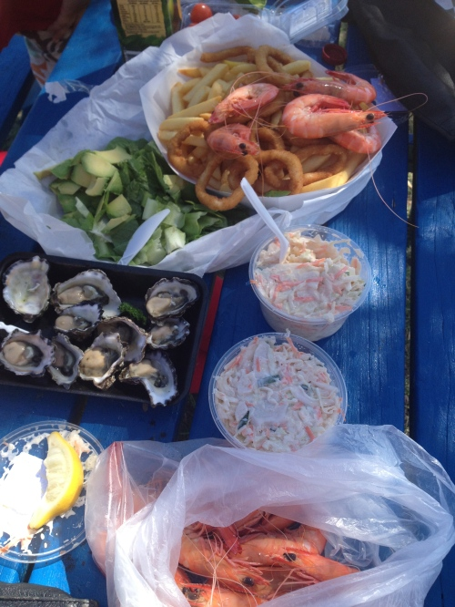 Prawns, oysters, calamari and other things are a good start
