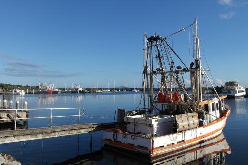 Fishing boat. Quaint