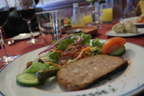 The terrine was goooood