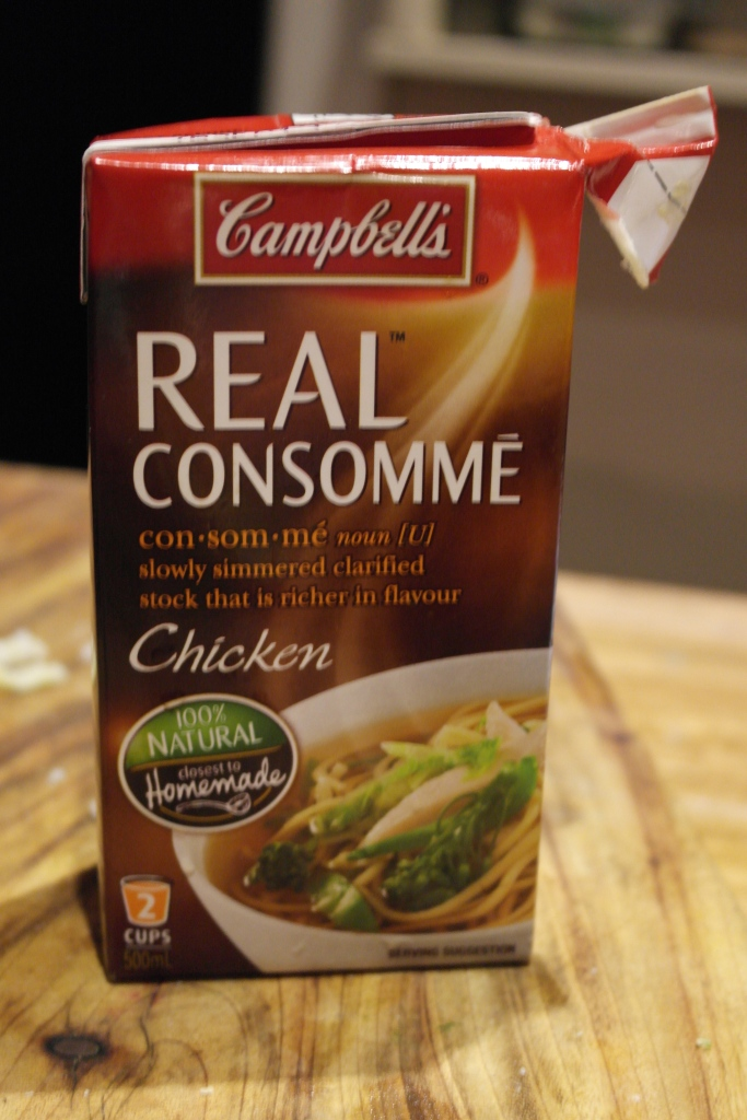 For an authentic GFC gravy, I always use Campells real chicken consomme...
