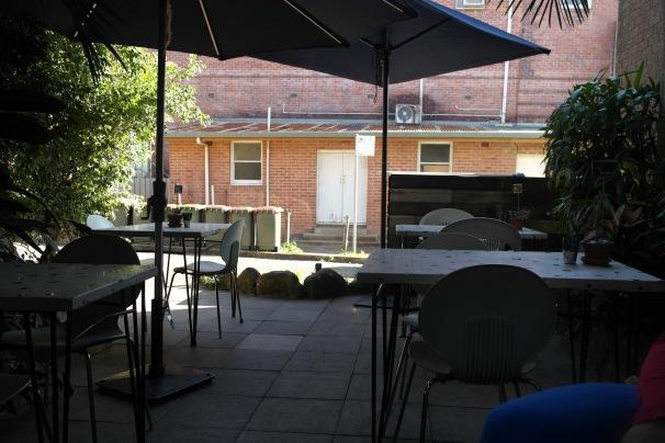 The court yard
