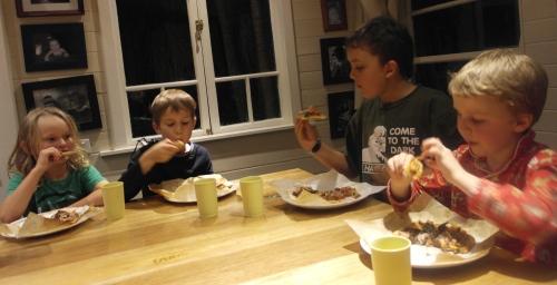 Kids love ham and cheese...