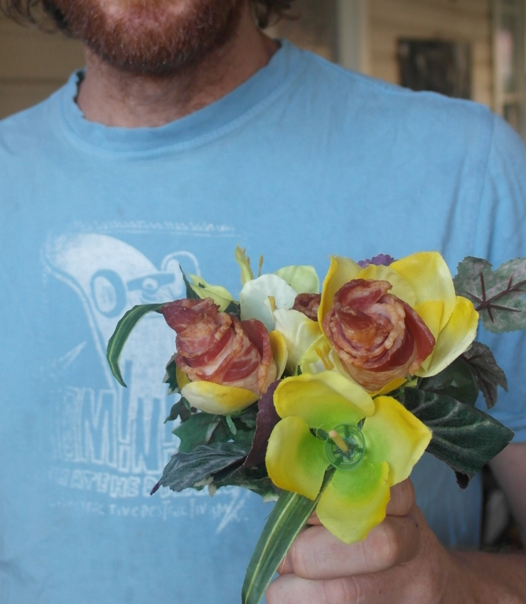 Bacon roses are my favourite flowers ever