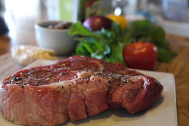 A nice piece of steak is a good start