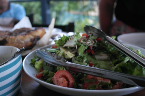 The blurry salad