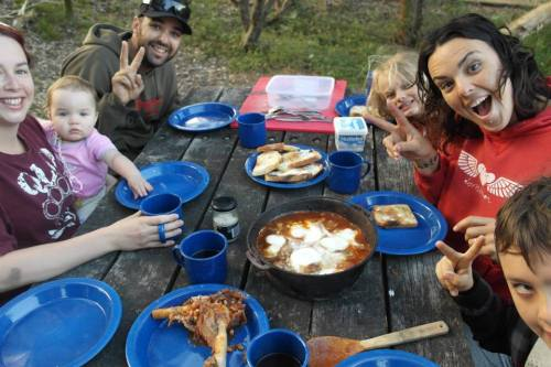 Hating that meal we had camping