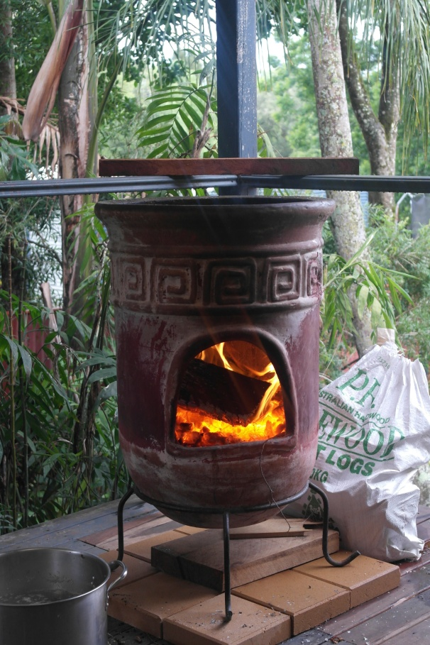 You remember our old friend the chiminea
