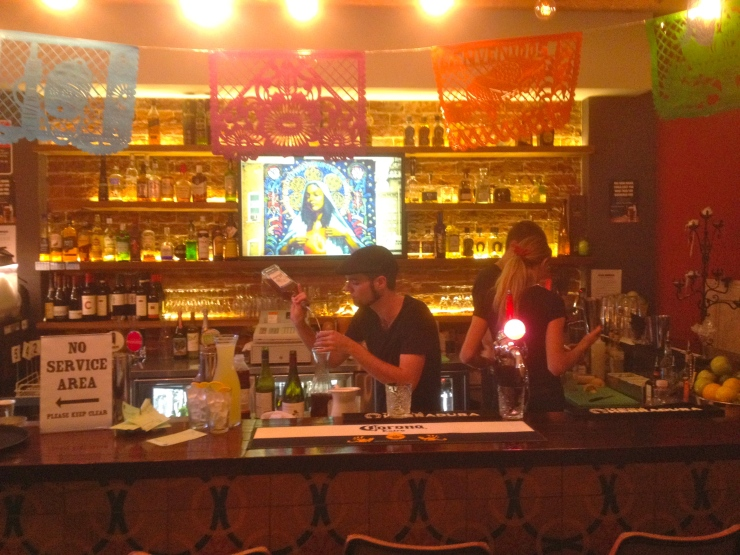 The tequila bar