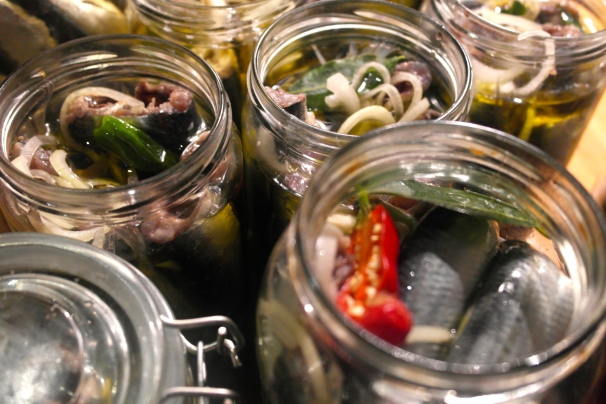 Into the jars