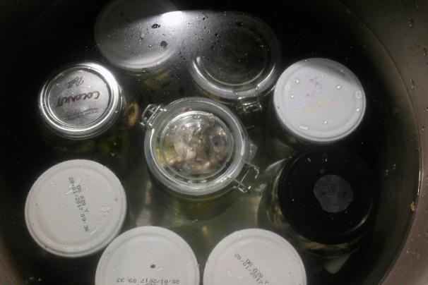 Simmer in a big pot