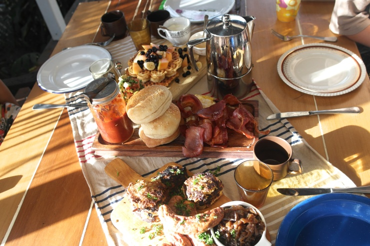 That breakfast spread