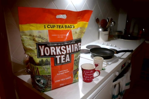 A fuck off big bag of Yorkshire tea