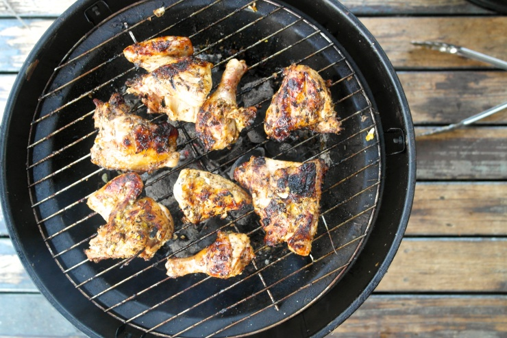Grill that chook on some nice low coals...