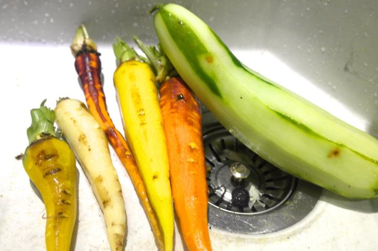 Pretty carrots...