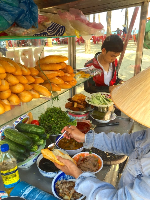 banh mi, food, vietnam, pork