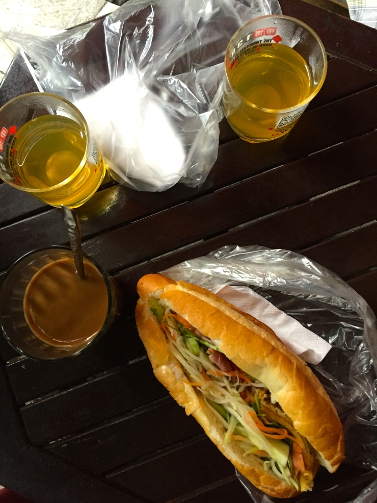 My favourite breakfast consisted of banh mi and Vietnamese coffee. If you need a reason to get up in the morning it might be time for you to look at real estate in Vietnam