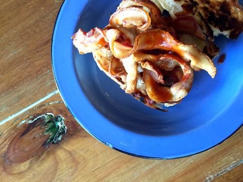 bacon sandwich for bacon week