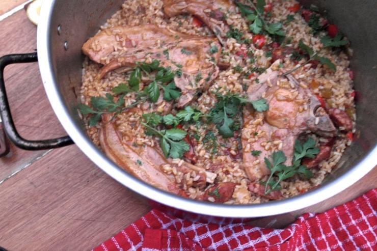 pork chop jambalaya