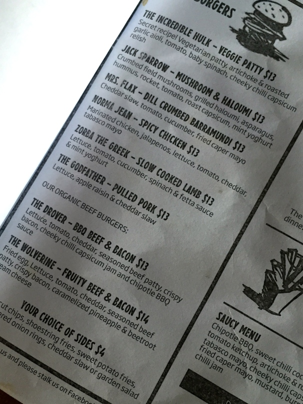 The menu looks almost exactly like this