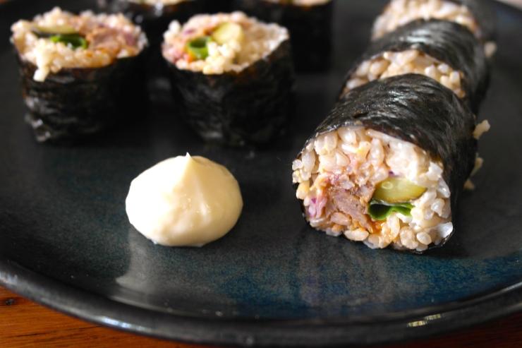 pork sushi