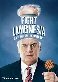 Sam Kekovich being a lambassador