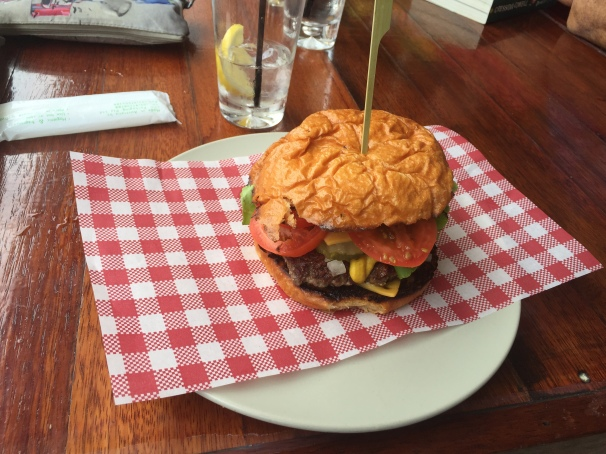 That burger