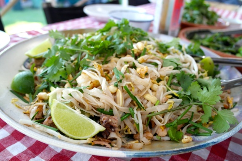 Those Pad Thai noodles