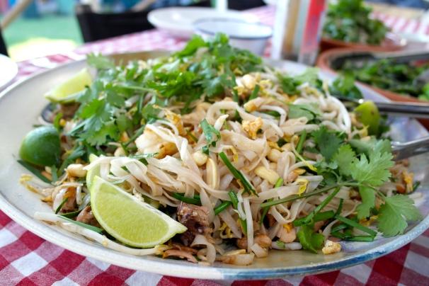 Those Pad Thai noodles