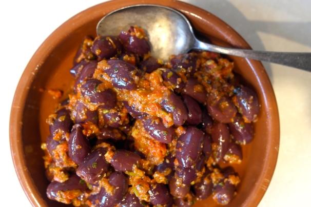 harissa olives