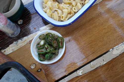 I also enjoyed home  made pickled jalapeños on the table with my BBQ. Maybe we should make them together some time...